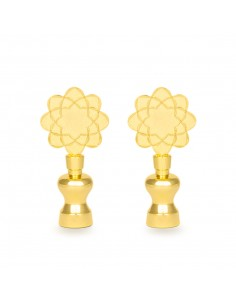 SGI logo golden stands